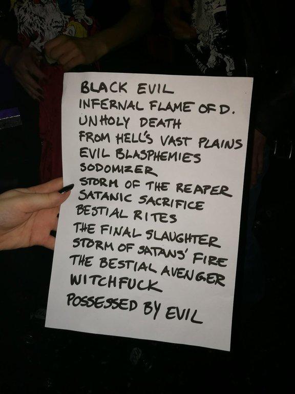 set-list concert
