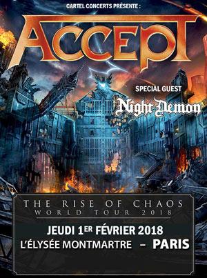 affiche concert Accept