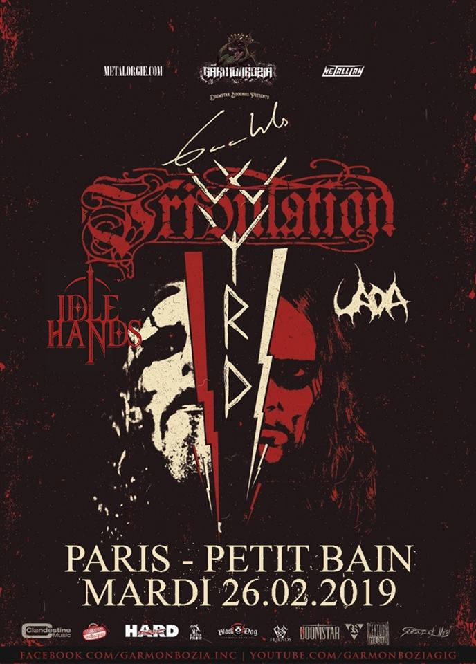 Gaahl's Wyrd / Tribulation, Paris, Petit Bain, 26 fev. 2019