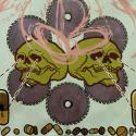 Frozen corpse stuffed with dope