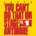 You can't do that on stage anymore (Volume 1)